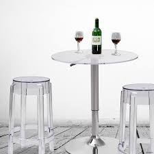 Adjustable Pedestal Table Base Table Amusing Joveco Transparent Acrylic Adjustable Round Bar