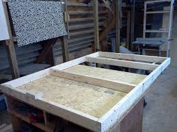 How To Build A Queen Size Platform Bed With Storage by Platform Bed With Drawers 8 Steps With Pictures