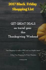 2017 black friday deals on travel gear black friday