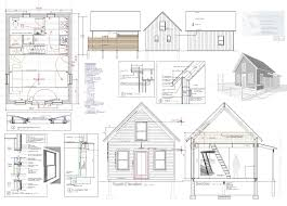 blueprint house plans how to build tiny house trailer floor plan wonderful sketch charvoo