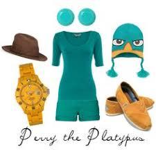Perry Platypus Halloween Costume U0027s Semi Aquatic Baby Action Perry Platypus