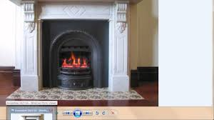 victorian fireplace converted to gas youtube