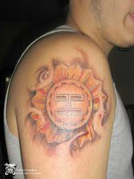 amazing tattoo inca tattoo