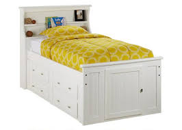 Twin Beds With Drawers Catalina Twin Wht Bkcs Storage Bed White Twin Beds Kids