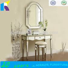 Glass Vanity Table With Mirror Modern Dressing Table With Mirrors Modern Dressing Table With