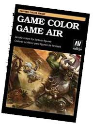 game color u0026 game air hand painted color chart hobby and model