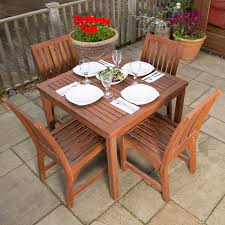 Octagon Patio Table by 4 Seater Wooden Furniture Sets U2013 The Uk U0027s No 1 Garden Furniture Store