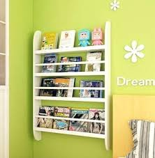 Childrens Wall Bookshelf Bookcase Bookcase For Toddler Room Bookcase For Childrens Room
