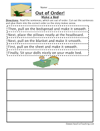 free sequencing worksheets have fun teaching