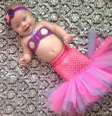 Newborn Halloween Costumes 0 3 Months Mermaid Costume Halloween Costume Newborn 3 6 Months 6 12