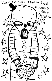 free zombie coloring book