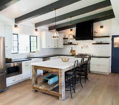 kitchen free standing islands reclaimed wood kitchen island with shelf and marble countertop