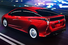 toyota official 2016 toyota prius drops cover boasts improved efficiency