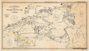 Map Of Massachusetts Coast by This Famous Eldredge Nautical Chart C Print Covers The Southern
