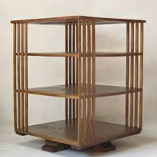 Oak Revolving Bookcase This Bellini Attributed Rotating Bookcase Is No Longer Available