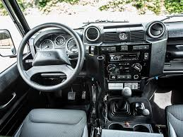 land rover defender interior spectre