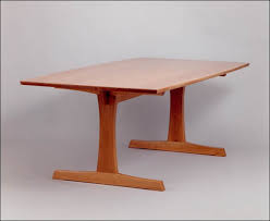 Woodworking Tables Designs Fine Woodworking Tables Fine - Trestle table design