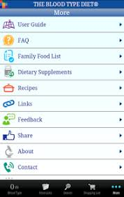 the blood type diet android apps on google play