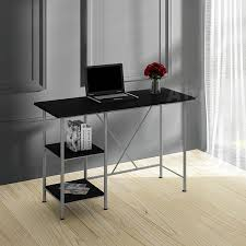 Desk Shelf Unit Computer Pc Table Study Workstation For Home