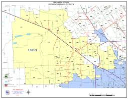 Houston Transtar Map District Map