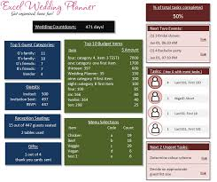 wedding planning software excel wedding planner template wedding planning