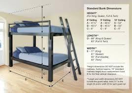 Bunk Bed Mattress Size Loft Beds Loft Bed Mattress Size View Dimension Diagram Bunk