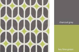 Eco Upholstery Fabric Grey Geometric Upholstery Fabric Modern Lime Green Fabric