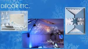 winter wonderland themed quinceanera by my quinceanera youtube