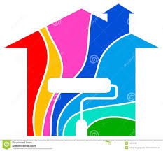Home Paint Home Painting Logo Royalty Free Stock Photo Image 19521735