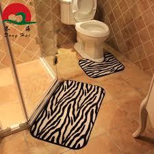 Zebra Bath Rug Zebra Bathroom Rug Vena Gozar