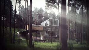 Modern Cabin by Cgarchitect Professional 3d Architectural Visualization User