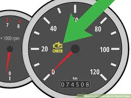 What Does Check Gages Light Mean 3 Ways To Check An Idle Air Control Valve Wikihow