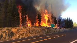 Oregon Forest Fires Map by Sunriver Fire Has Burned 200 Acres 80 Percent Contained Kgw Com