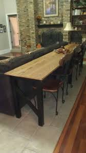Sofa Table Dimensions Best 25 Long Sofa Table Ideas On Pinterest Diy Sofa Table Very