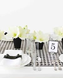 diy table runners martha stewart weddings
