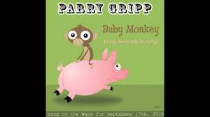 Baby Monkey Meme - baby monkey going backwards on a pig parry gripp youtube