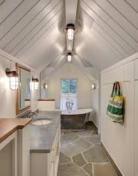 Cottage Bathroom Lighting Splendid Blonde Wood Flooring Whitewash Cottage Contemporary