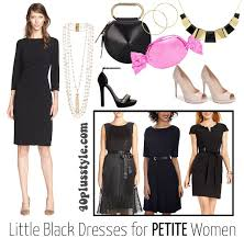 how to wear a little black dress for your body type 40plusstyle com