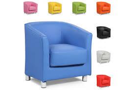 Tub Chairs Vegas Modern Tub Arm Chair Various Colours Sleep Design