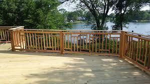 Ideas For Deck Handrail Designs Deck Railing Design Ideas Ontheside Co