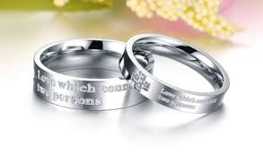 christian wedding bands christian titanium steel wedding bands wholesale cross promise