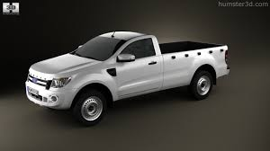 Ford Ranger 2014 Model 360 View Of Ford Ranger Single Cab 2012 3d Model Hum3d Store