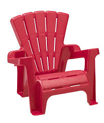 Plastic Porch Chairs Amazon Com American Plastic Toy Adirondack Chair Red Toys U0026 Games