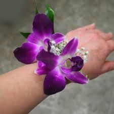 orchid wrist corsage fuchsia orchids wrist corsage w flowers ottawa