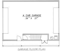 Four Car Garage Plans Creek 4 Car Garage Plans