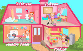 learn household chores for kids sweet baby clean up game