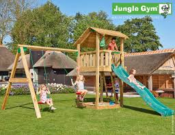 Double Swing Shelter Tower With Double Swing Play And Sports