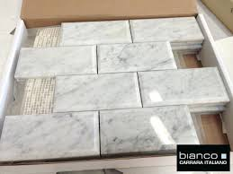 12x24 Tile Bathroom Carrara Marble Tile U2013 Dreadwood Us