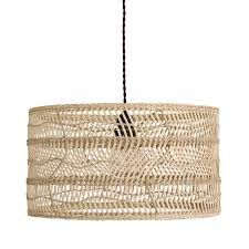 Wicker Pendant Light Wicker Pendant L Woo Design