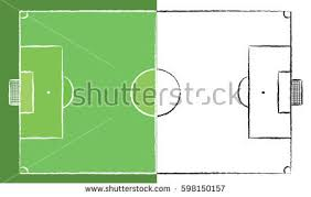football field doodle stock images royalty free images u0026 vectors